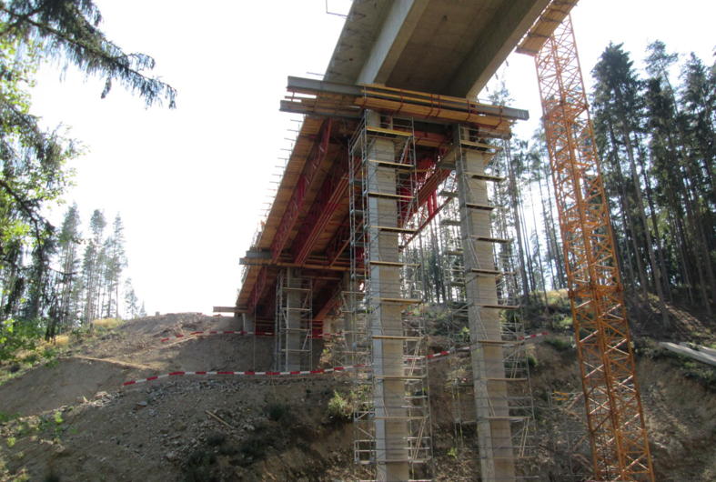 Umfahrung Zwettel - Road and bridge construction