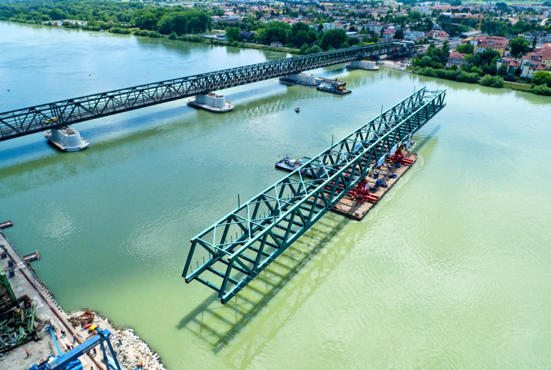 Sanierung Donaubrücke Tulln - Road and bridge construction