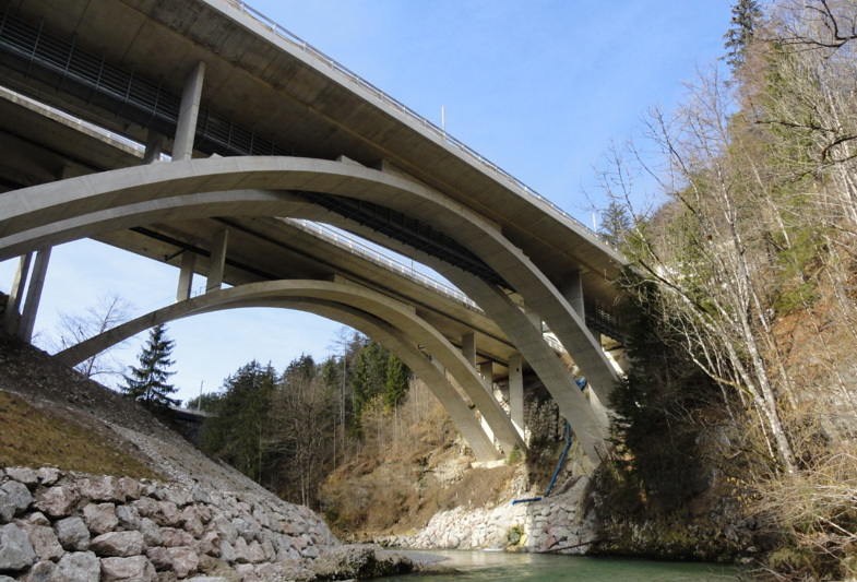 A9 Teichlbrücke - Road and bridge construction
